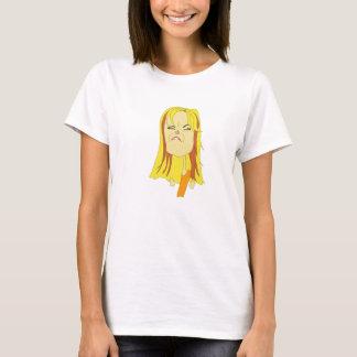 かわいいブロンド Tシャツ