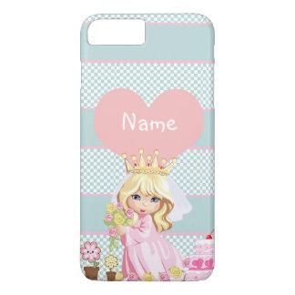 かわいいプリンセスの児童のそうかわいい iPhone 8 PLUS/7 PLUSケース