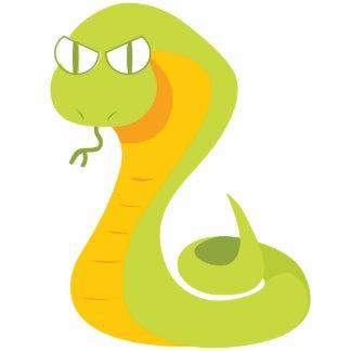 かわいいヘビ フォトスカルプチャー