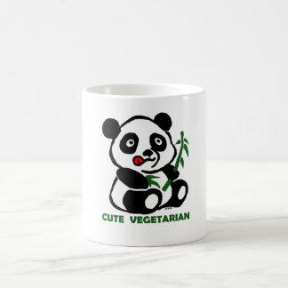 かわいいベジタリアン コーヒーマグカップ