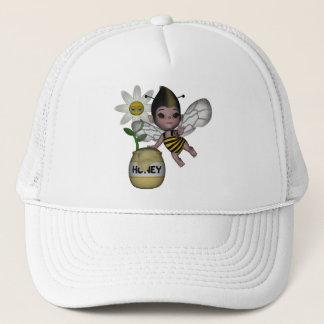 かわいいベビーののまわりにの蜂蜜の花1 キャップ