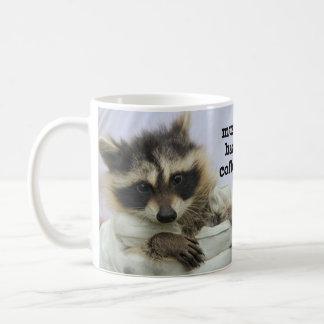 かわいいベビーのアライグマのコーヒー・マグ、絶対必要のHazのコーヒー コーヒーマグカップ