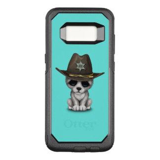 かわいいベビーのオオカミの保安官 オッターボックスコミューターSamsung GALAXY S8 ケース