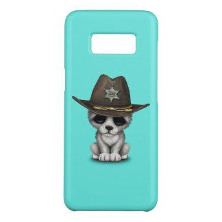 かわいいベビーのオオカミの保安官 Case-Mate SAMSUNG GALAXY S8ケース
