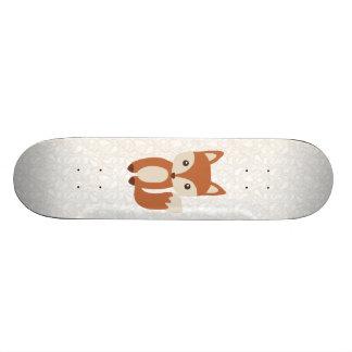 かわいいベビーのキツネ 21.6CM オールドスクールスケートボードデッキ