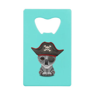 かわいいベビーのコアラの海賊 ウォレット 栓抜き