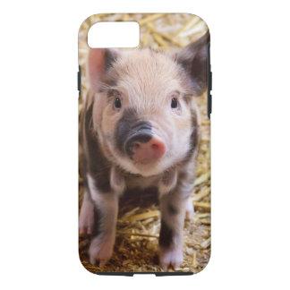 かわいいベビーのコブタのiPhone 7の場合 iPhone 7ケース