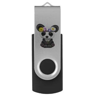 かわいいベビーのパンダのヒッピー USBフラッシュドライブ