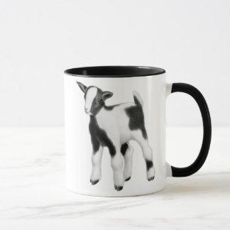 かわいいベビーのヤギのマグ マグカップ