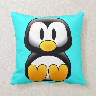 かわいいベビーの漫画のペンギン クッション