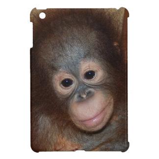 かわいいベビーの顔の霊長目 iPad MINIケース