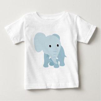 かわいいベビー象 ベビーTシャツ