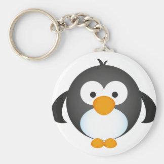 かわいいペンギンのデザイン キーホルダー