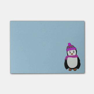 かわいいペンギンの後it®ノート ポストイット