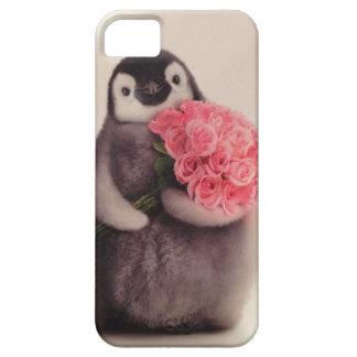 かわいいペンギンのiphoneの場合 iPhone SE/5/5s ケース