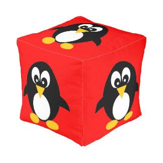 かわいいペンギンのpouf プーフ