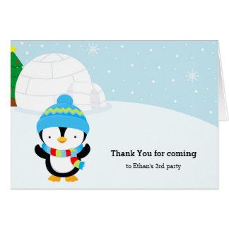かわいいペンギン カード