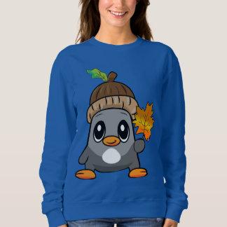 かわいいペンギン スウェットシャツ