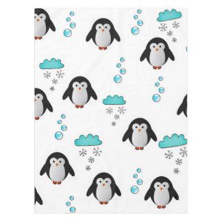 かわいいペンギン テーブルクロス