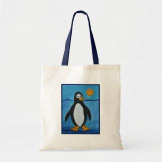 かわいいペンギン トートバッグ