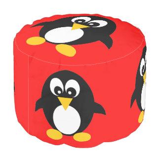 かわいいペンギン プーフ