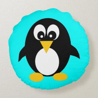 かわいいペンギン ラウンドクッション