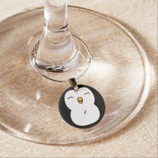 かわいいペンギン ワインチャーム