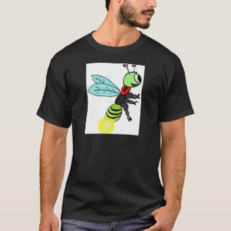 かわいいホタルの飛行 Tシャツ