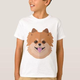 かわいいポメラニア犬の漫画! Tシャツ