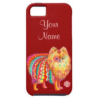 かわいいポメラニア犬のiPhone 5の場合 iPhone 5 ケース