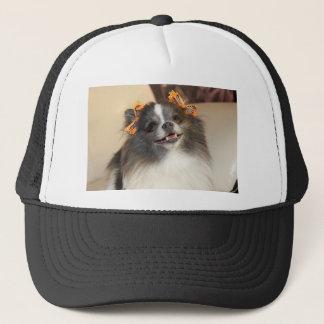 かわいいポメラニア犬犬 キャップ