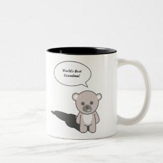 かわいいマグ(個人化して下さい) ツートーンマグカップ