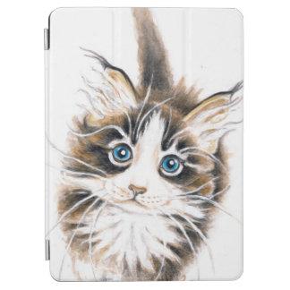 かわいいメインのあらいぐまの子猫 iPad AIR カバー