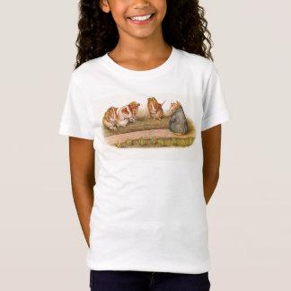 かわいいモルモットの園芸 Tシャツ