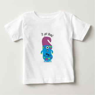 かわいいモンスター ベビーTシャツ
