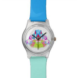 かわいいユニコーンの腕時計 腕時計