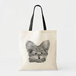 かわいいヨークシャーテリア犬のトートバック トートバッグ