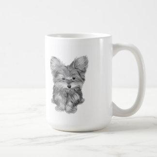 かわいいヨークシャーテリア犬 コーヒーマグカップ