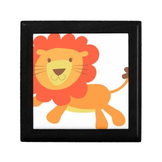 かわいいライオン ギフトボックス