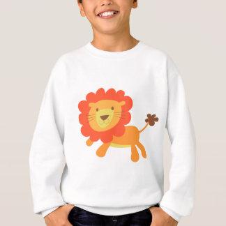 かわいいライオン スウェットシャツ