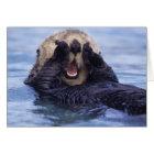 かわいいラッコ アラスカ、米国 カード