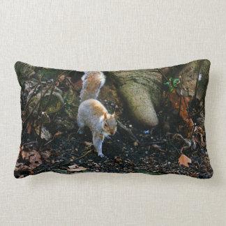 かわいいリスの写真、森林の動物 ランバークッション