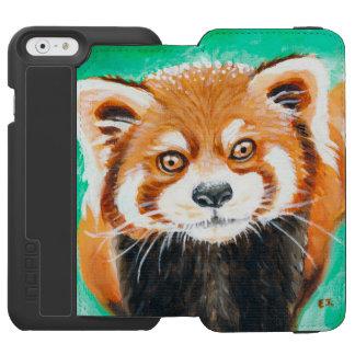 かわいいレッサーパンダ INCIPIO WATSON™ iPhone 6 財布ケース