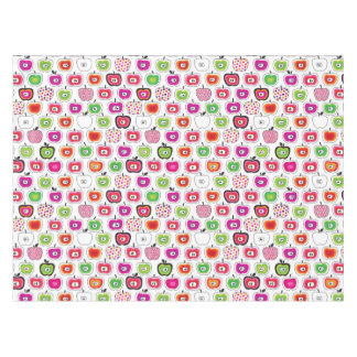 かわいいレトロのりんごパターン テーブルクロス