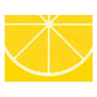 かわいいレモン郵便はがき ポストカード