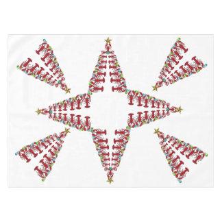 かわいいロブスターの航海のなクリスマスのテーブルクロス テーブルクロス
