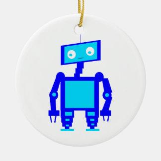 かわいいロボット セラミックオーナメント