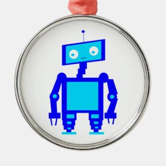 かわいいロボット メタルオーナメント