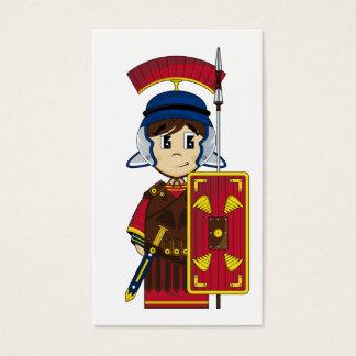 かわいいローマの兵士のしおり 名刺