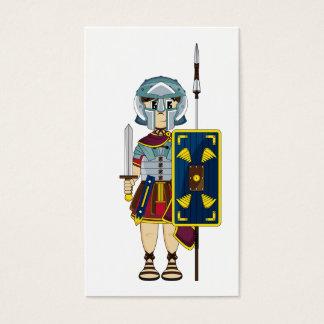 かわいいローマの剣闘士のしおり 名刺